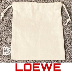 """Loewe Charm fob Bag Dust Pouch wallet NEW Rare 7"""""""